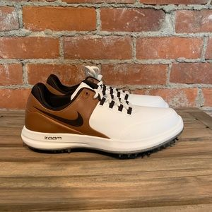 Nike Air Zoom Accurate Golf Cleats Size 10 New